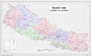 नेपालको नयाँ नक्शा सार्वजनिक